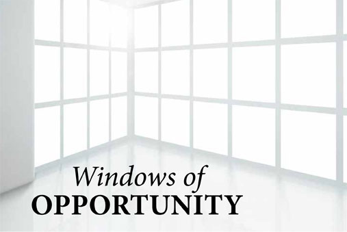 Windows of opportunity envision for Window of opportunity