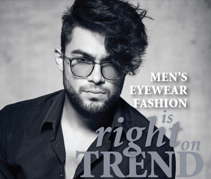 Mens Eyewear Fashion Is Right On Trend